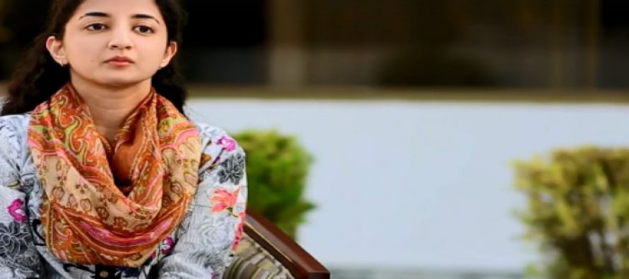 Azima Haider from Islamabad didn't let her limb deficiency limit her dreams