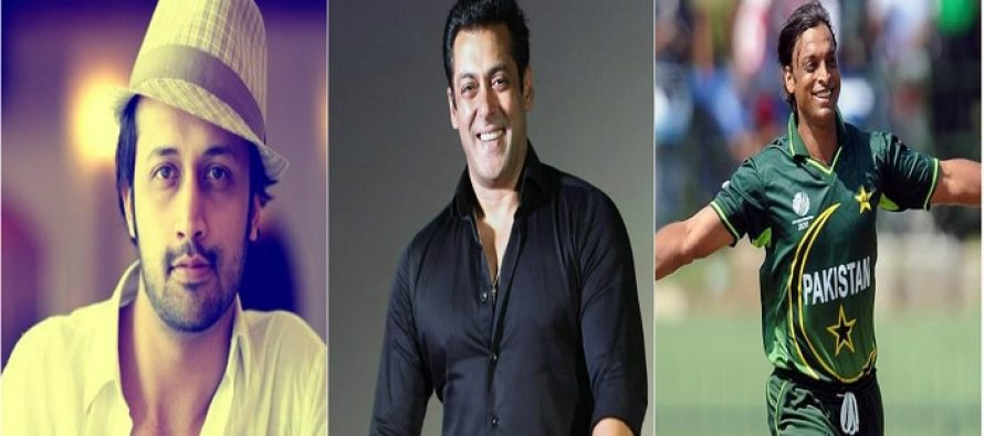 A Rare Old Picture Of Salman Khan, Atif Aslam & Shoaib Akhtar Has Surfaced Online!
