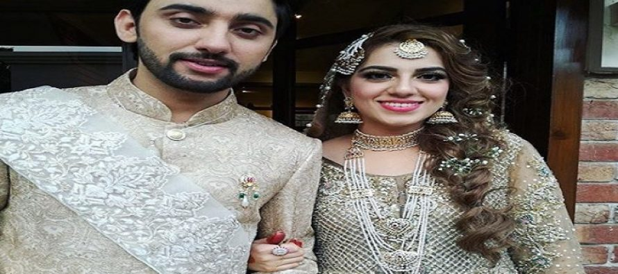 See Pictures: Amanat Ali Ties Knot With Sarah Manzoor