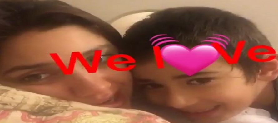 Mahira Khan & Son Azlaan's Video Message Is The Cutest Thing You'll See Today