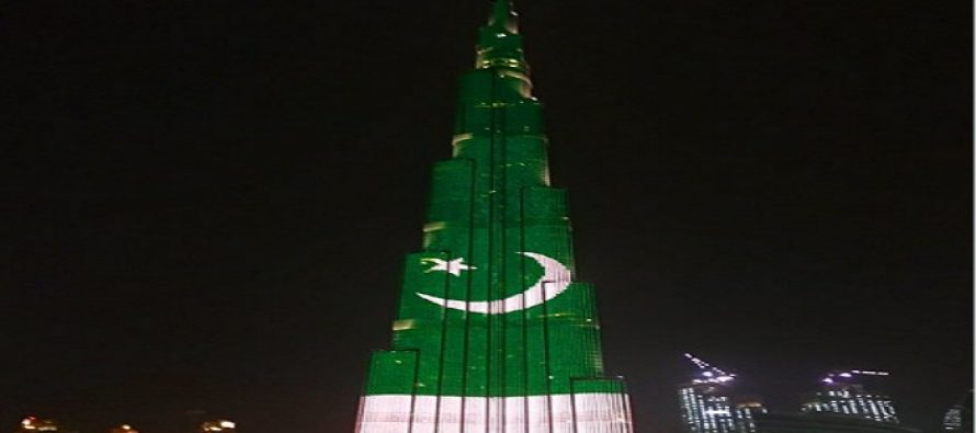 World's Tallest Building Lights Up With Pakistan's Flag & Its Beautiful