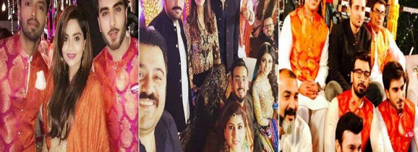 Celebrities Spotted At Abdullah Seja's Mehndi