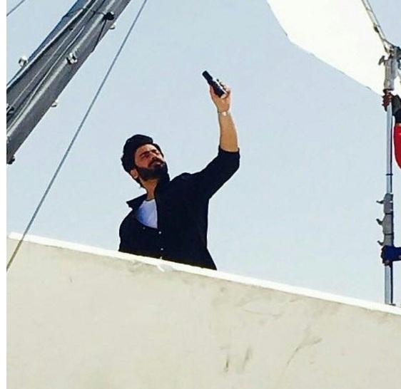 Fawad Khan Shoots For 'Bold' TVC