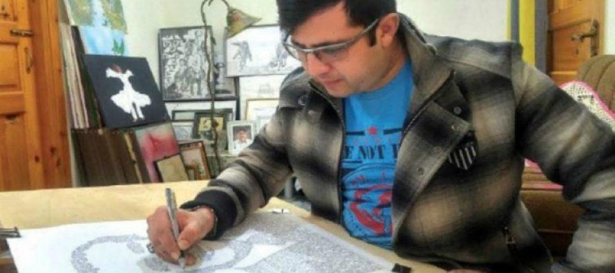 Pakistani artist creates 'bio-portraits' of Pakistan's war heroes