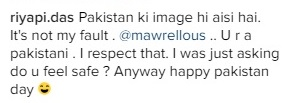 """Mawra Hocane Just Told Off An Indian Who Asked Her """"If She Feels Safe In Pakistan"""""""