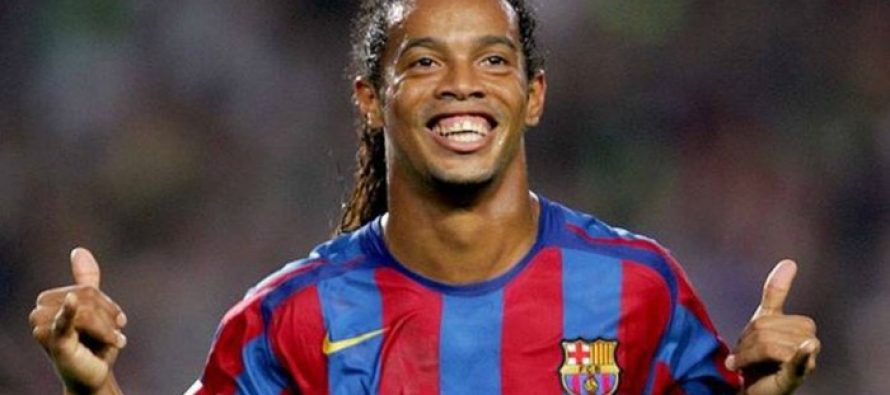 Ronaldinho is excited to meet the kids of Lyari