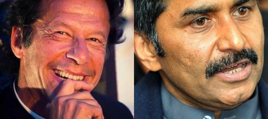 Miandad has Imran Khan's back