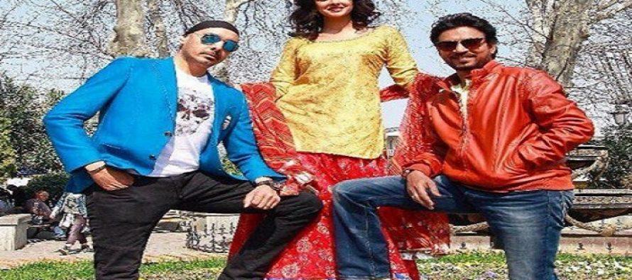 Saba Qamar Shoots For Hindi Medium's Song In Georgia