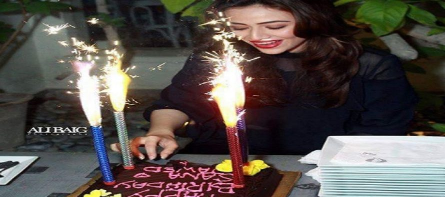 Sana Javed's Birthday Bash Pictures & Videos