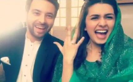 Woah! Meekal Zulfiqar & Kubra Khan Are Finally Giving Us A Happy Ending Of Sang e Marmar