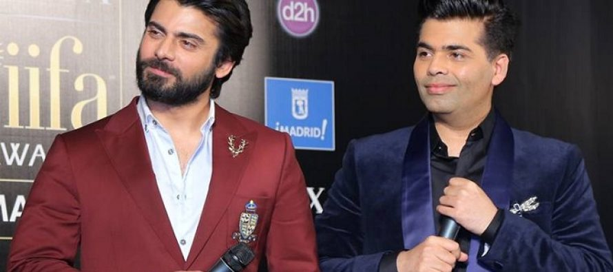 Watch Video: Karan Johar Is Extremely Fond Of Fawad Khan