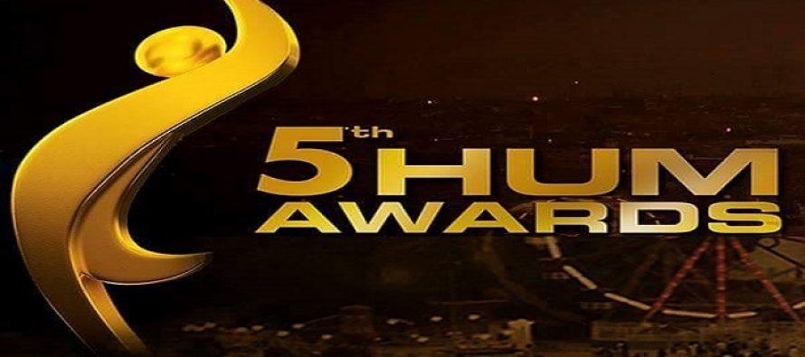 Hum Awards 2017 – Nominations Revealed!