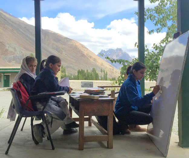 This Pakistani girl left her six-figure job in Islamabad to teach children in Hunza