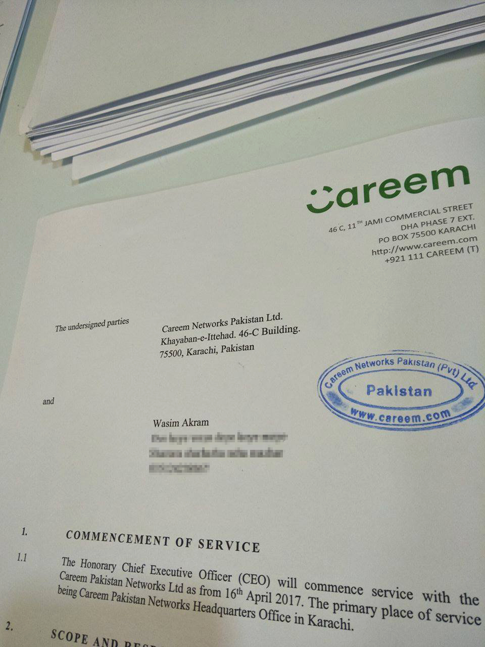 Wasim Akram Joins Careem As Honorary CEO, But Just For A Single Day