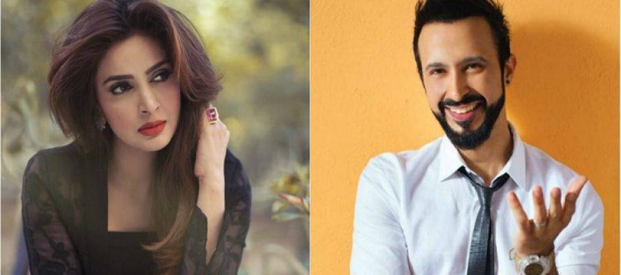 Saba Qamar Pairs Up With Ali Kazmi For Umera Ahmed's 'Baaghi'
