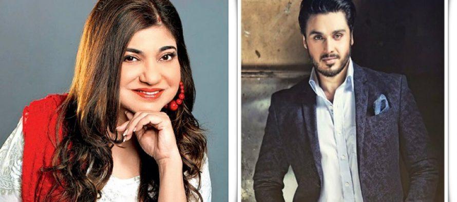 Indian Singer Alka Yagnik Is All Praises For Ahsan Khan & Wants Him To Win LSA For Udaari