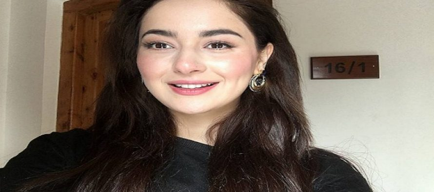 """""""We had to do a lot of training because we play cadets in Parwaaz Hai Junoon,"""" Shares Hania Amir"""
