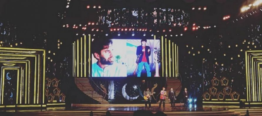A Special Tribute To Junaid Jamshed At Hum Awards