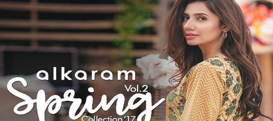 Mahira Khan Is An Aboslute Beauty in Alkaram's Latest Photoshoot