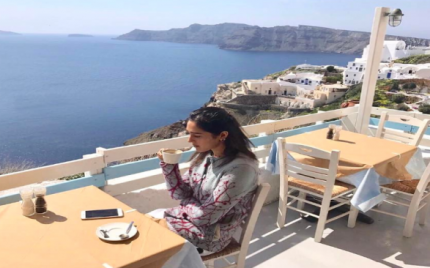 Mira Sethi recently went to Greece and the photos are gorgeous!