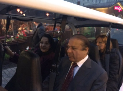 PM Nawaz Sharif Celebrates 46th Wedding Anniversary With Wife