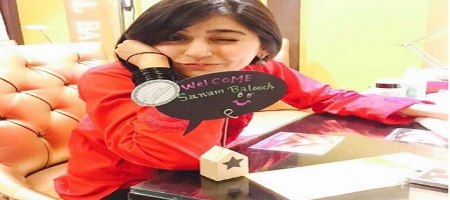 Sanam Baloch Is Finally Making Comeback With An Upcoming Drama