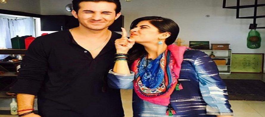 BTS Shots Of Sanam Baloch's 'Istekhara'