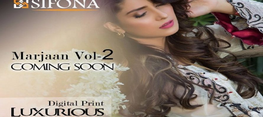 Ayeza Khan Sizzles In Sifona's Latest Collection