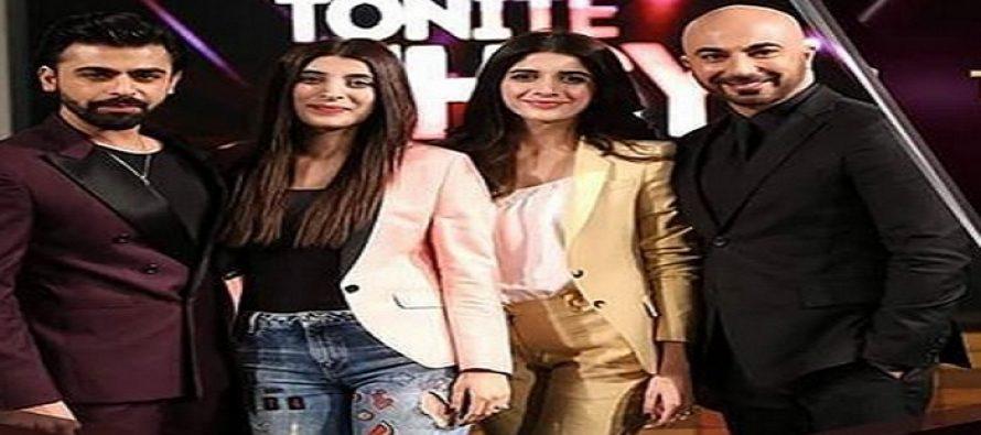 Tonite With HSY Season 4 – Mawra, Urwa and Farhan
