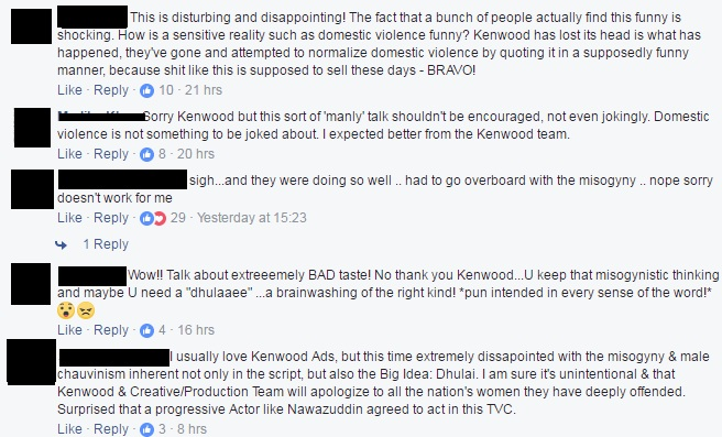 Kenwood's Latest Ad Receives Severe Backlash, Here's How The Audience Reacted!