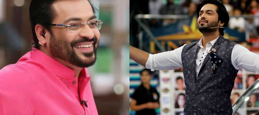 Amir Liaqat Replies With Even More Love To Fahad Mustafa