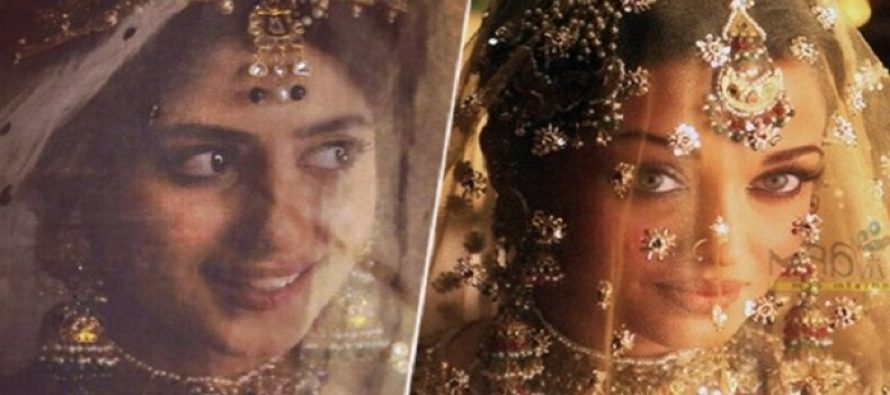 Sajal Ali Shares An Uncanny Resemblance With Aishwarya Rai In This Latest Photshoot