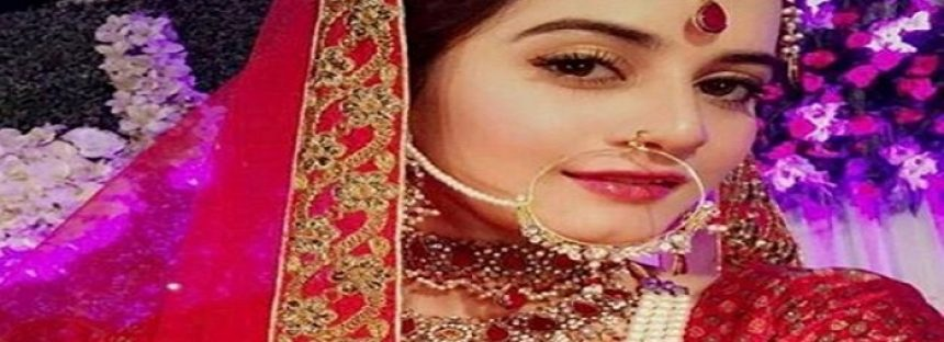 Aiman Khan In A New Bridal Look For Upcoming Drama