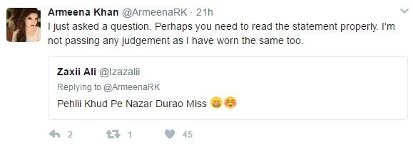 Armeena Rana Khan Stirs A Debate On Eastern & Western Attire!