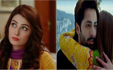 Here's How Ayeza Khan Reacted To Danish Taimoor's Romantic Sequences In Mehrunisa V Lub U