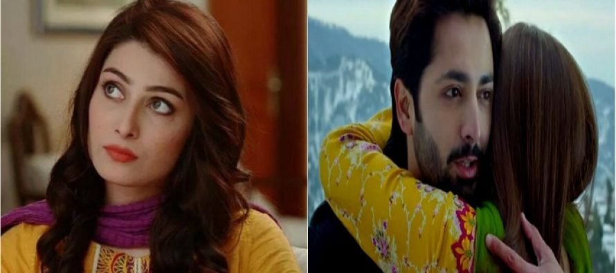 Here's How Ayeza Khan Reacted To Danish Taimoor's Romantic Sequences In Mehrunisa V Lub U