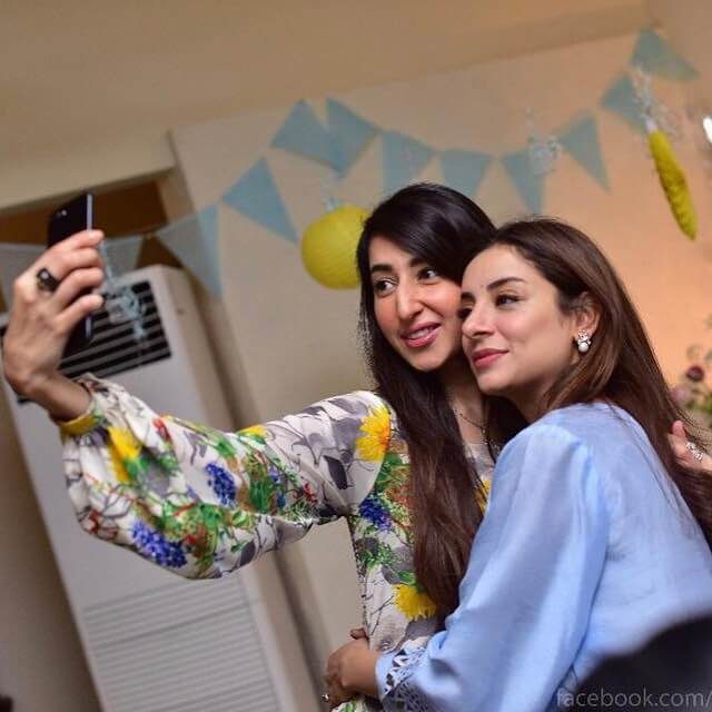 Sarwat Gillani & Fahad Mirza's Baby Shower Pictures