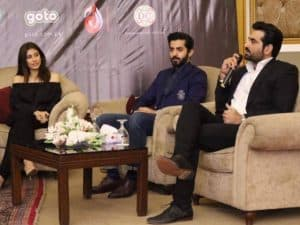 Official trailer launch ceremony of Project Ghazi at Merriot, Karachi