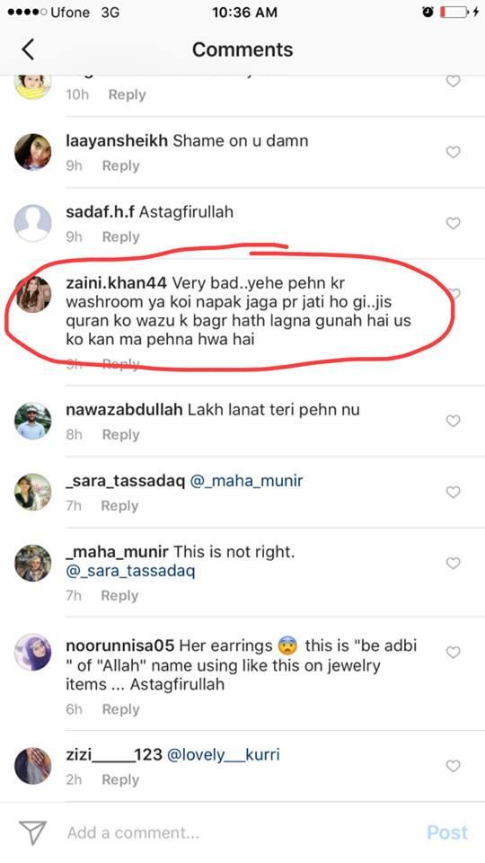 Sonya Hussyn replies to jewellery controversy!
