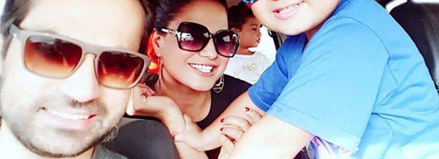Veena Malik Enjoying Some Family Time in Dubai