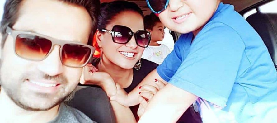 Veena Malik Enjoying Some Family Time in Dubai