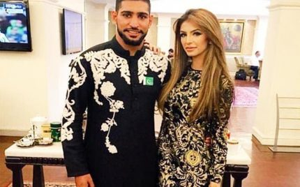 Amir Khan finally reconcile with family!