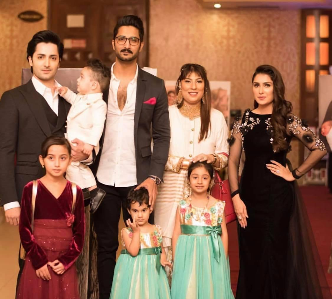 Ayeza Khan Family1