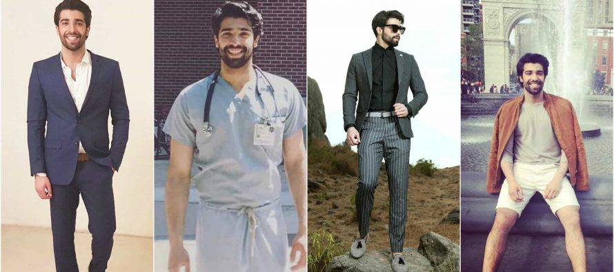 Handsome Pakistani Doctor is Internet's New Crush!