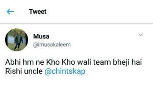 Rishi Sahab Mauka Mauka!