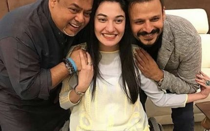 Vivek Oberoi as mesmerised by Muniba Mazari as the rest of us !!