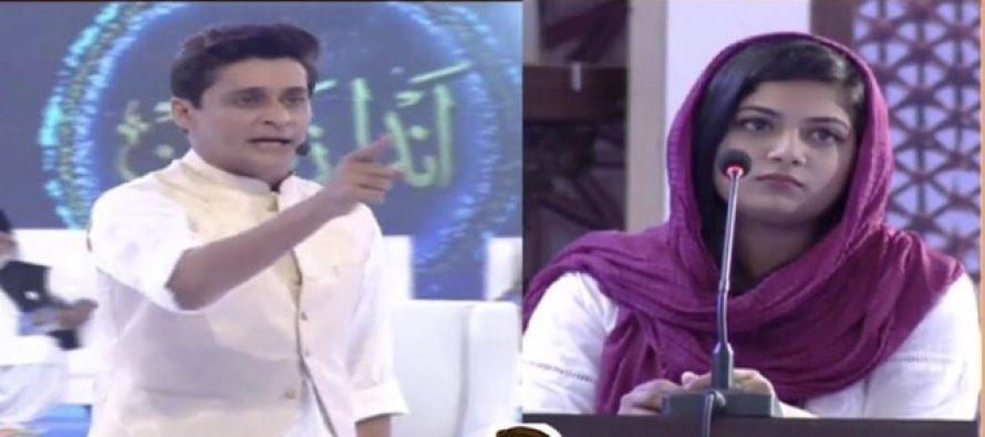 Saba Rizwan (The girl who was insulted) replies to Sahir Lodhi