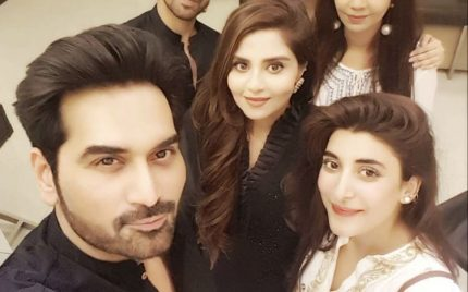 Celebrity sehri at Humayun Saeed's house