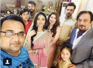 """Zahid Ahmed and Iqra Ariz coming together in """"gustakh ishq"""""""