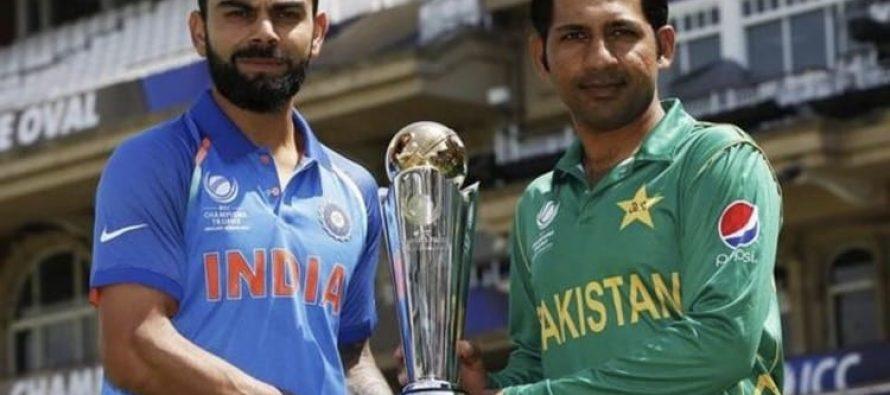 Sarfraz sings mauka mauka with his fans after beating India